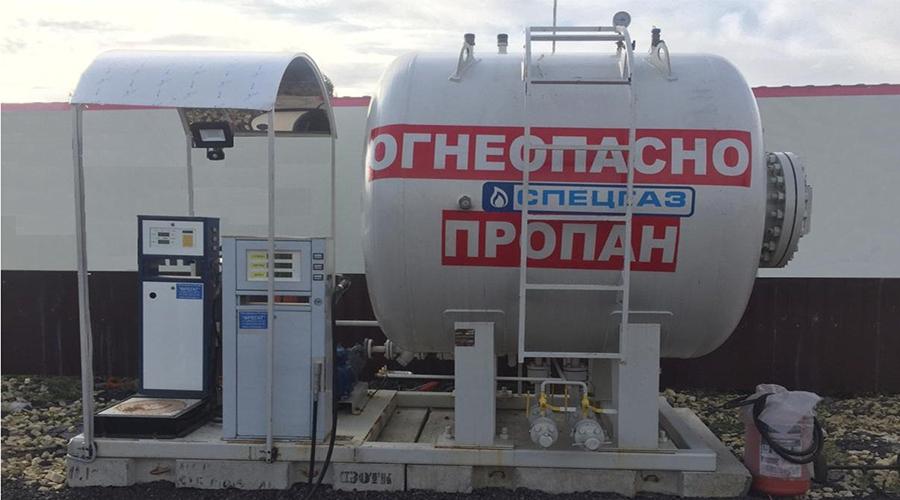 Модульная газовая АЗС